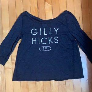 Gilly hicks long sleeve